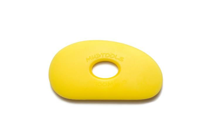 Polymer Rib Shape 0 Yellow Soft