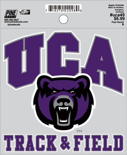 "4.5""x4.5"" UCA Track & Field Decal"