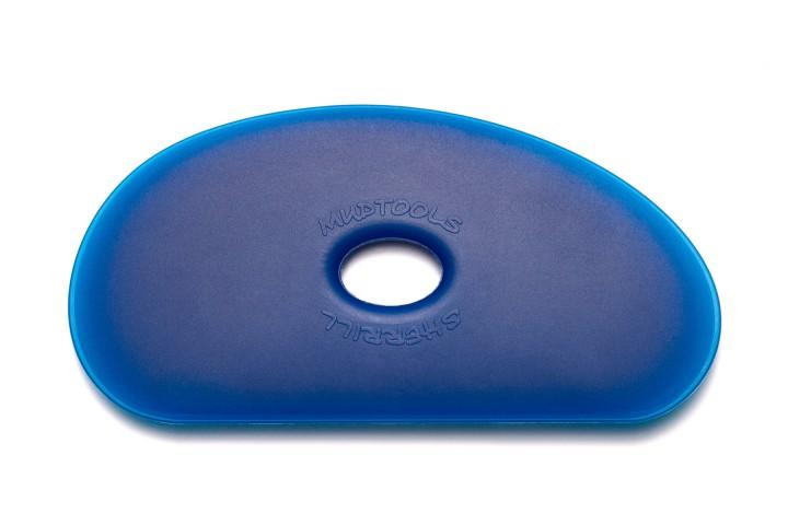 Polymer Rib Shape 5 Blue Firm