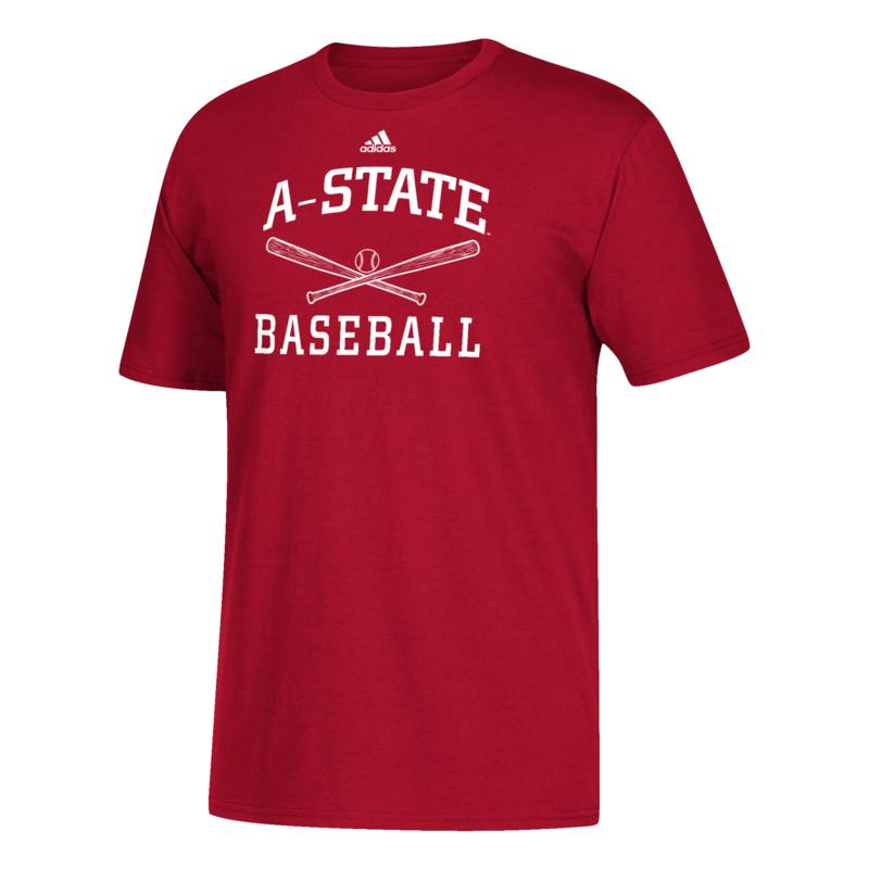 Arkansas State Baseball SS Tee