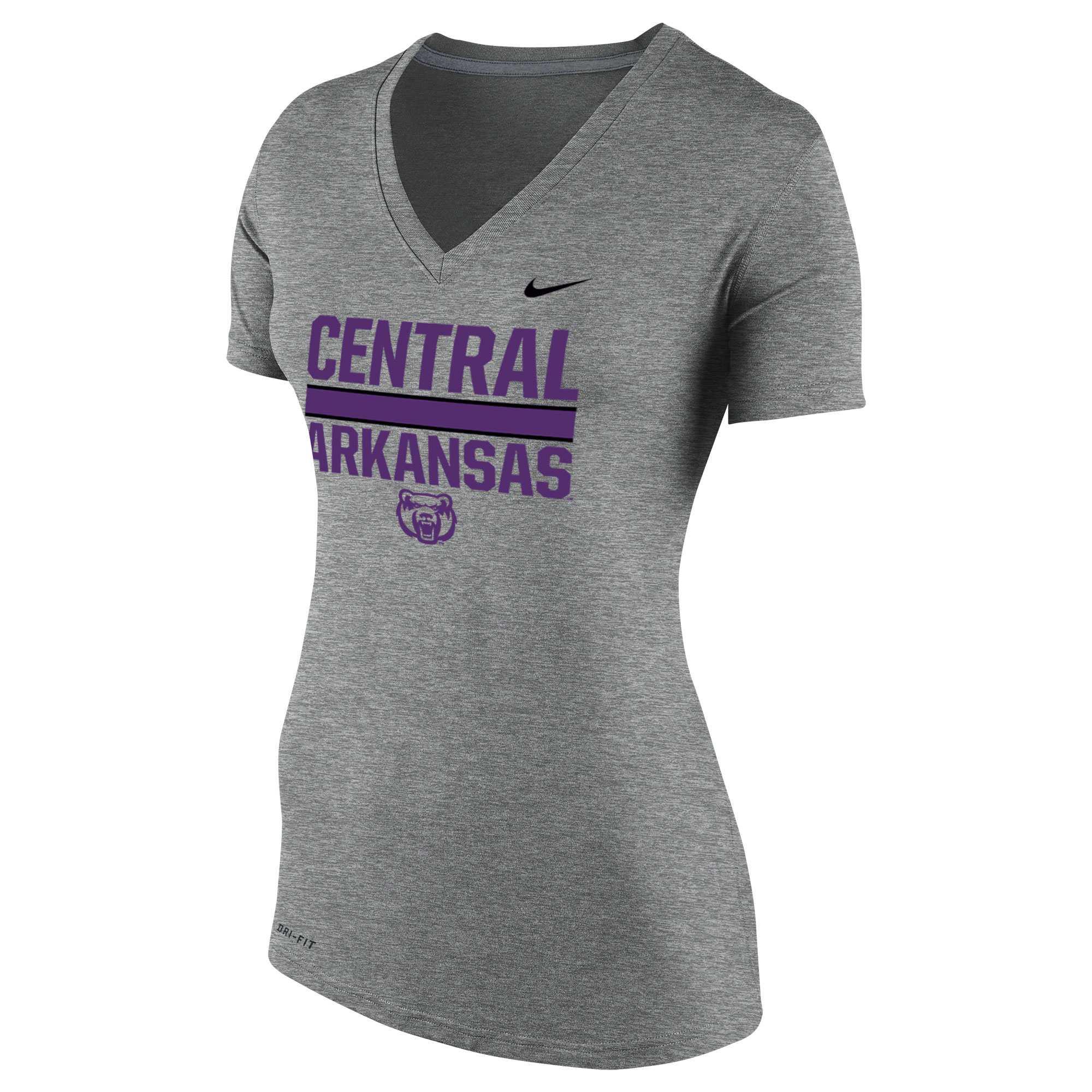 Central Arkansas DriFit Vneck Tee