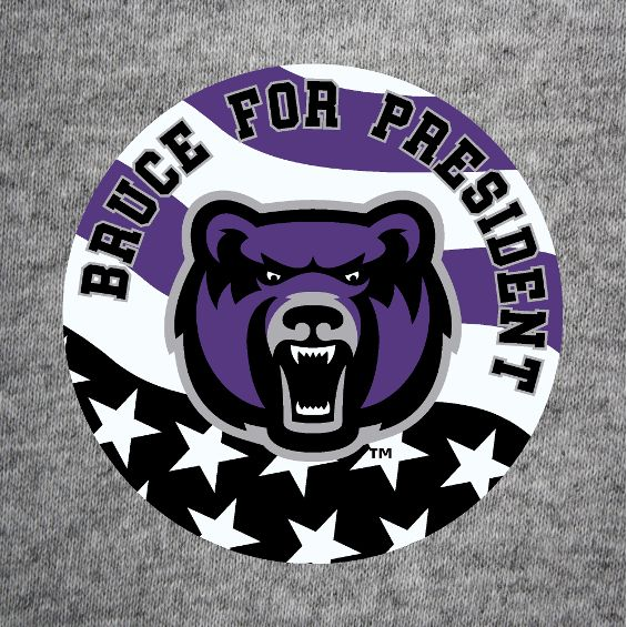 Bruce For President Button