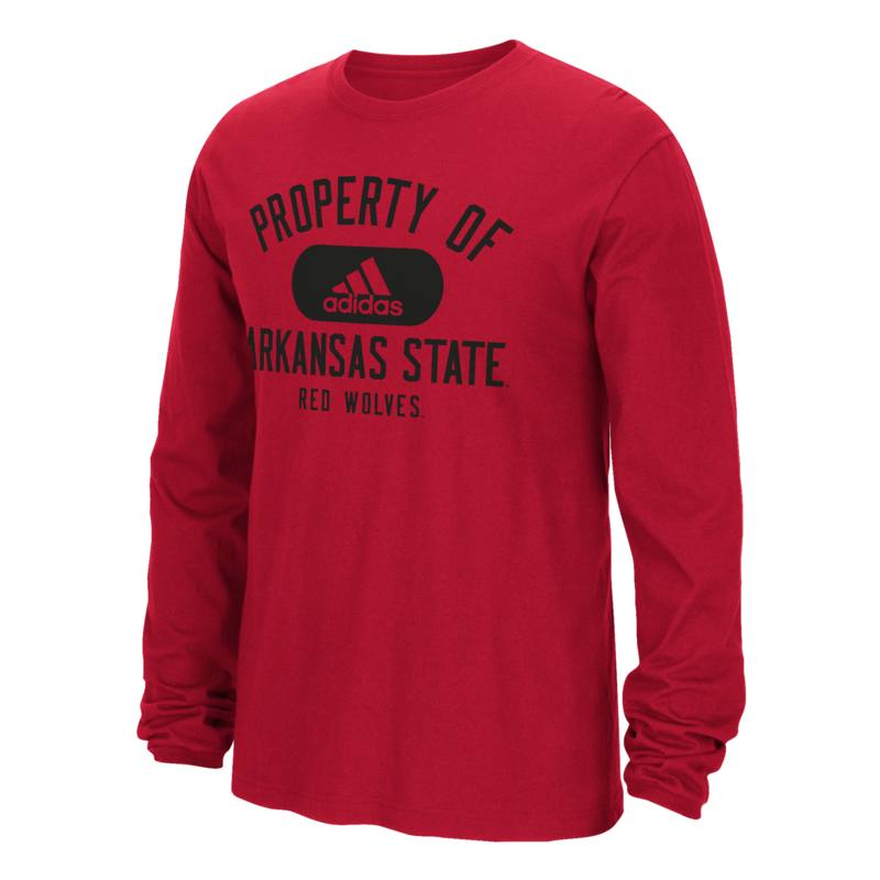 Property Of Arkansas State LS Tee