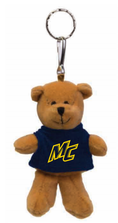Brown Teddy Bear Key Chain