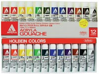 Acryla Gouache 10ml Study Set/12