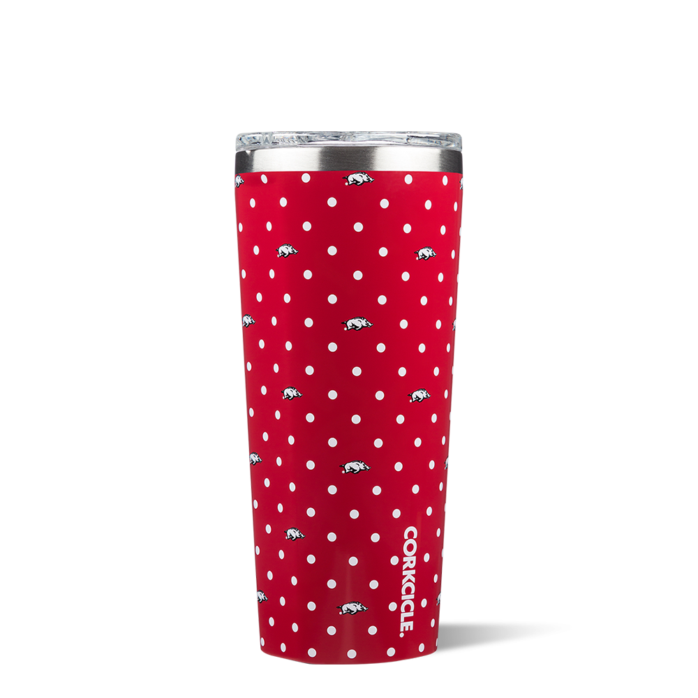 Corkcicle 24oz Tumbler Polka Dot RH