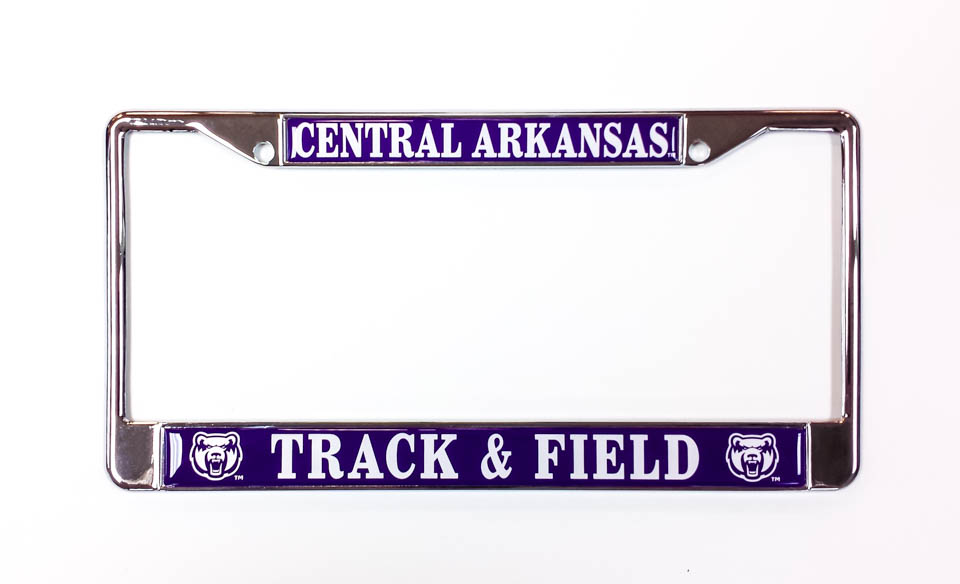 Central Arkansas Track & Field License Frame