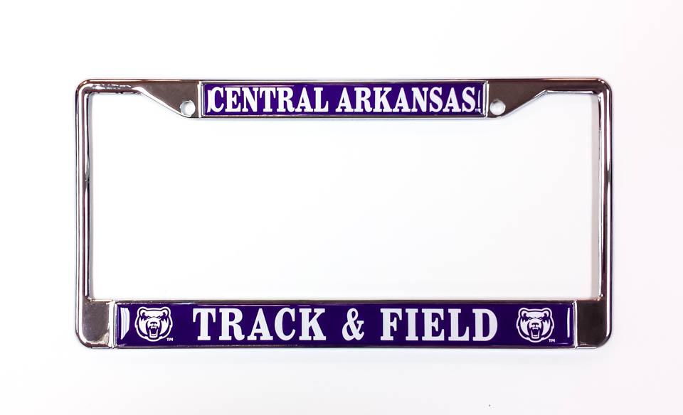 Central Arkansas Track & Field License Frame