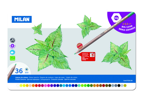 Professional Colored Pencil Tin/36