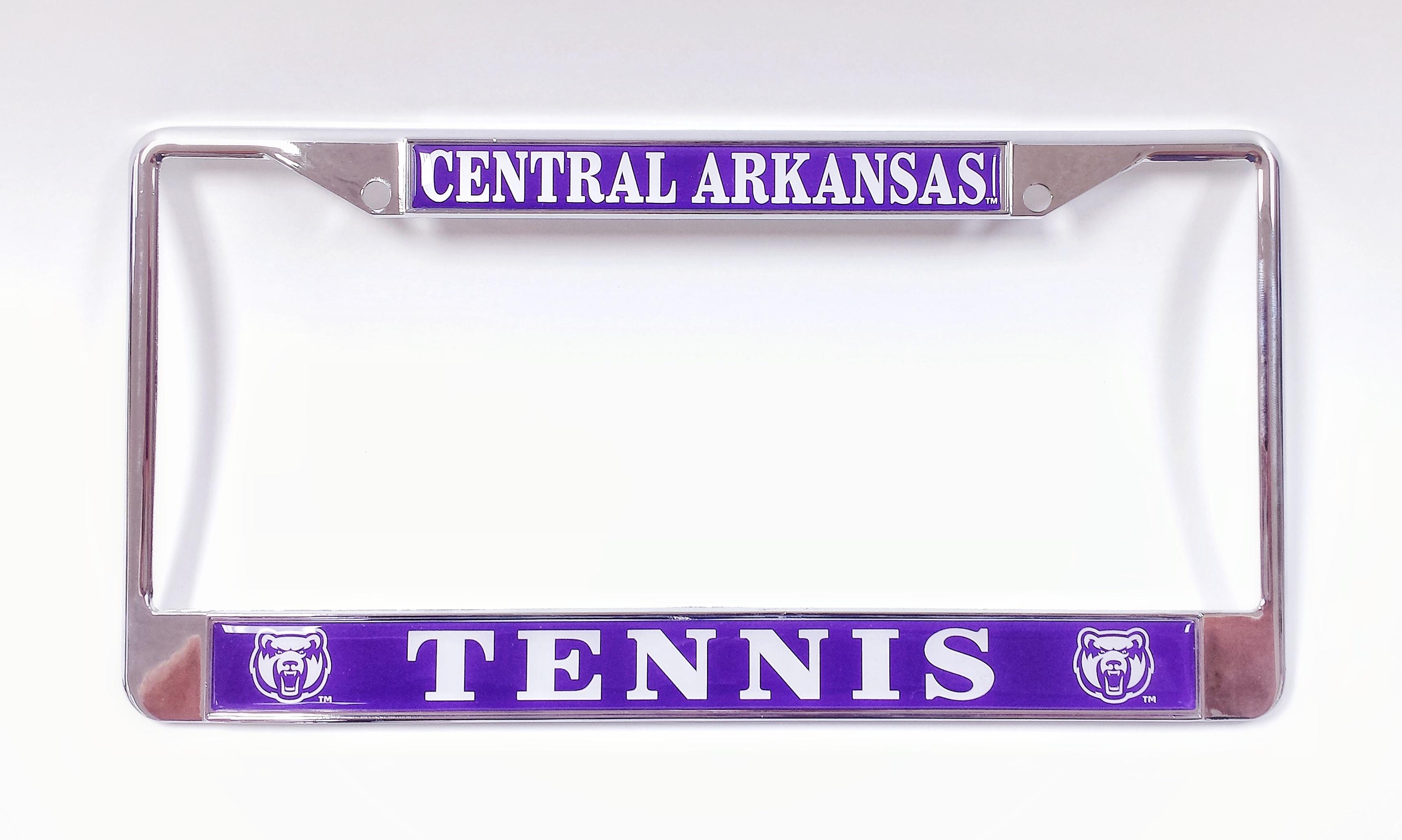 Central Arkansas Tennis License Plate Frame
