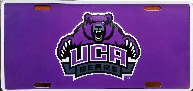 UCA Bears Deluxe License Plate