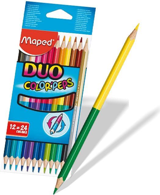 Color'Peps Duo Color Pencil Set/12