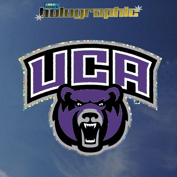 Holographic UCA Bearhead Decal