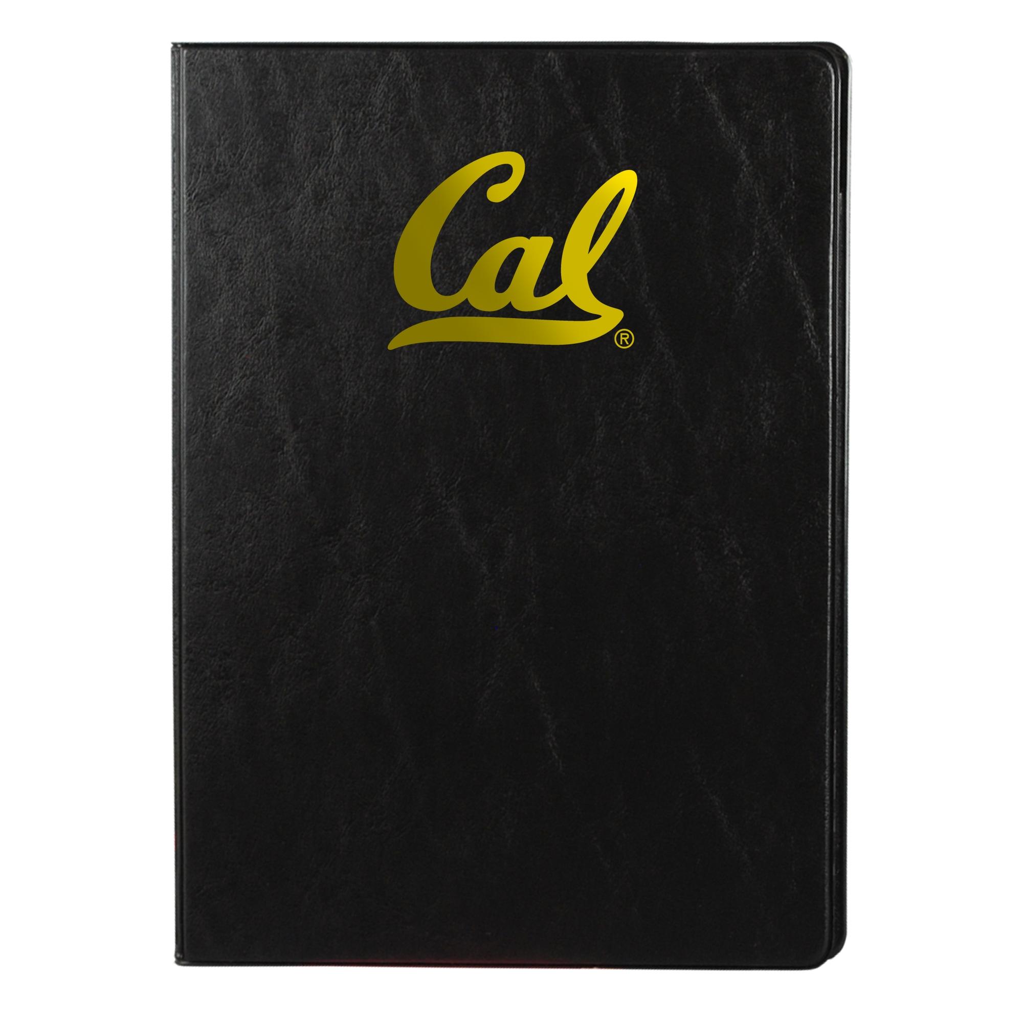 University of California Berkeley Vinyl Padfolio Cal Logo