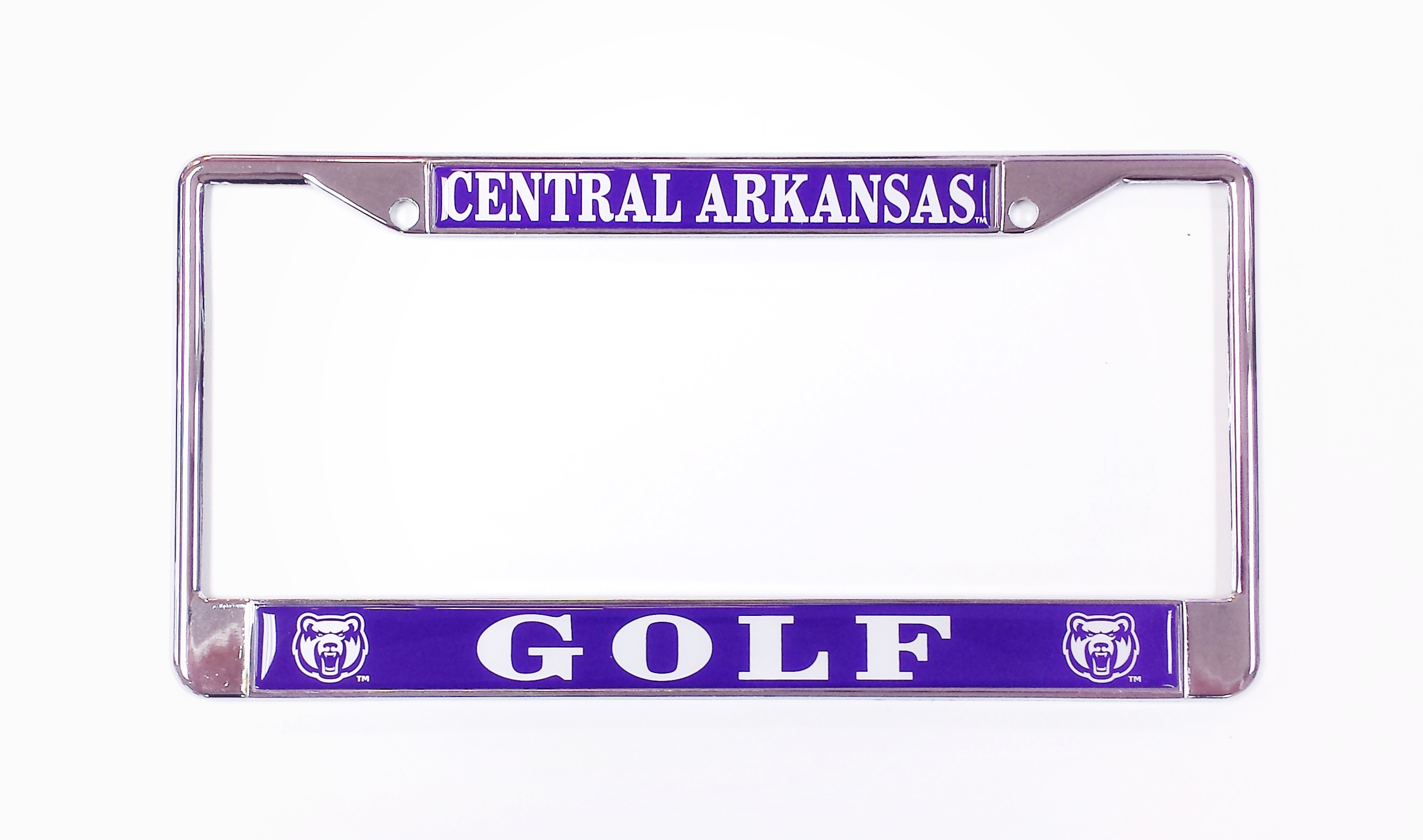 Central Arkansas Golf License Frame