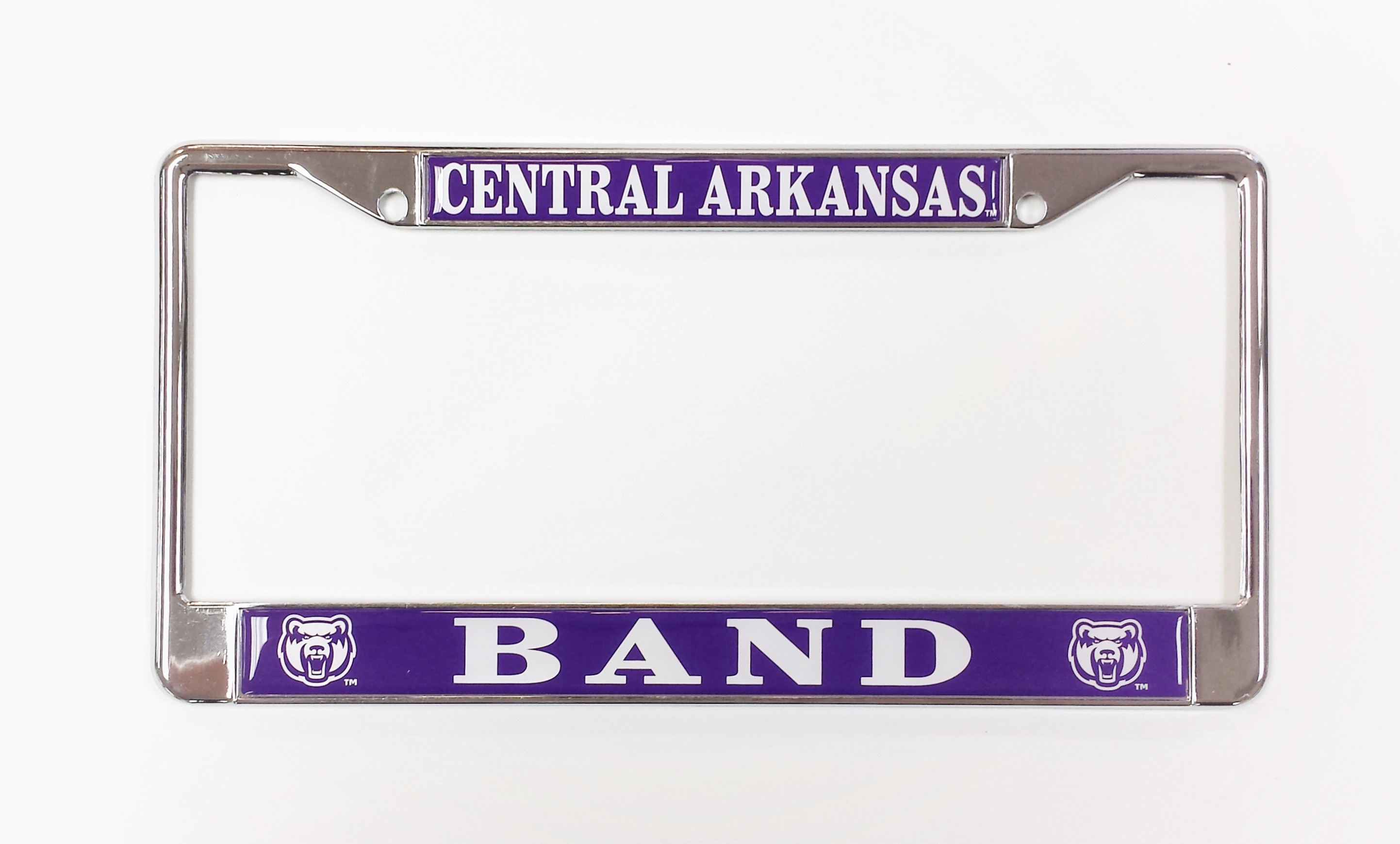 Central Arkansas Band License Frame