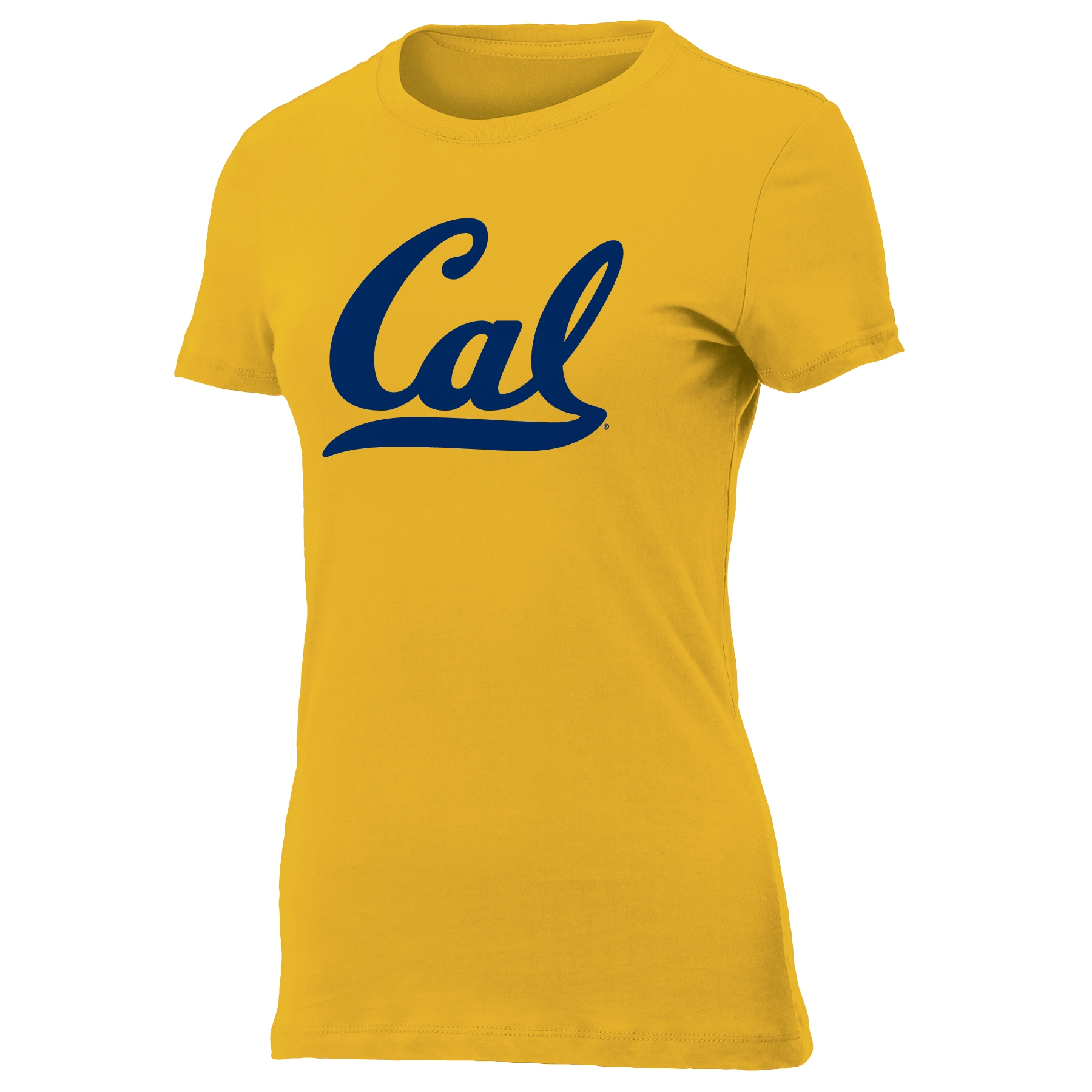 University of California Berkeley Women's Vintage Sheer Tee with Cal Logo