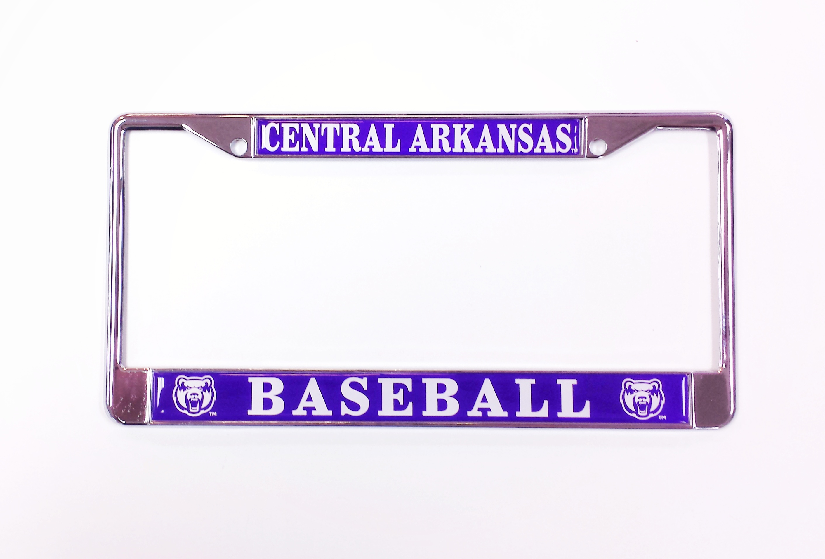 Central Arkansas Baseball License Frame