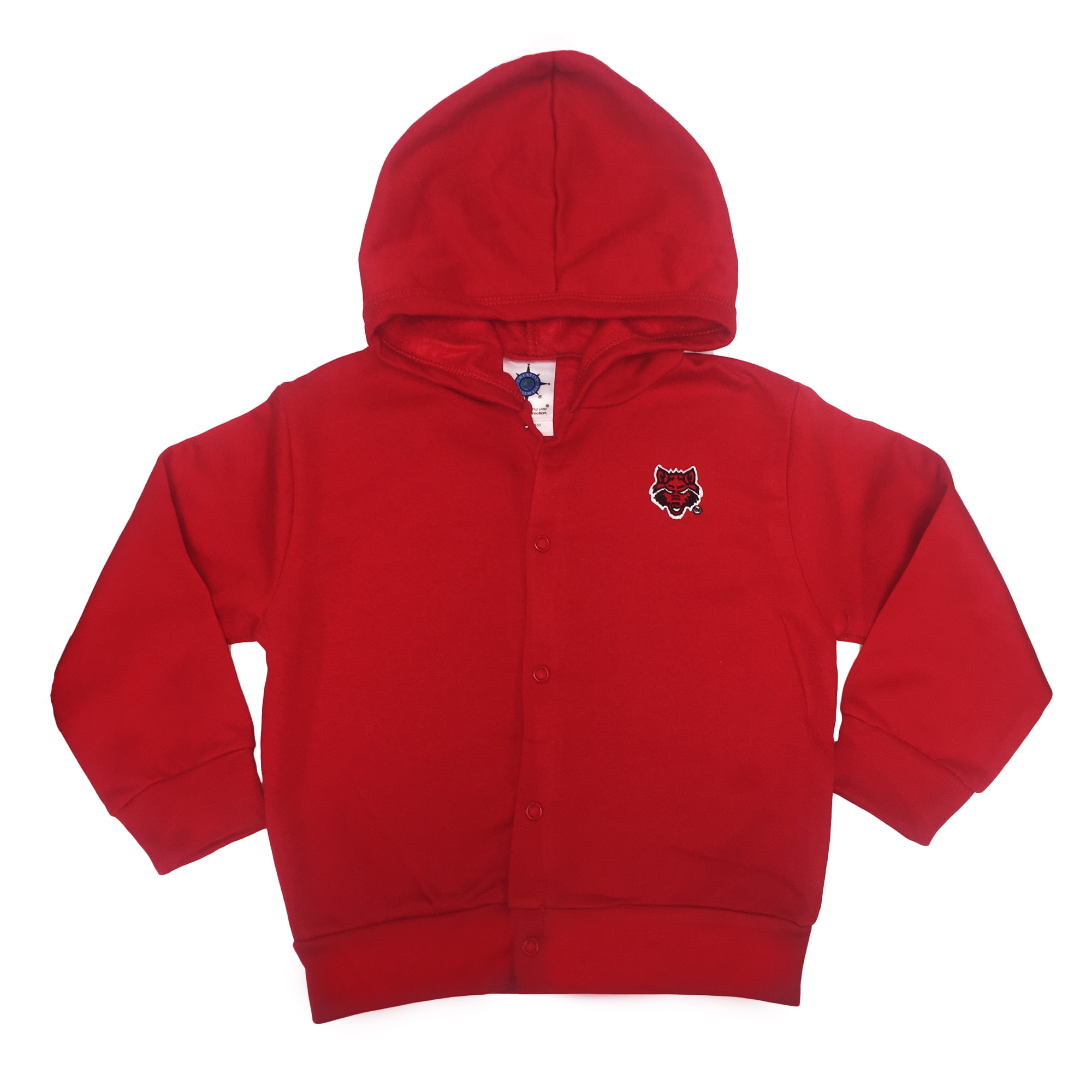 Red Wolves Hooded Snap Jacket