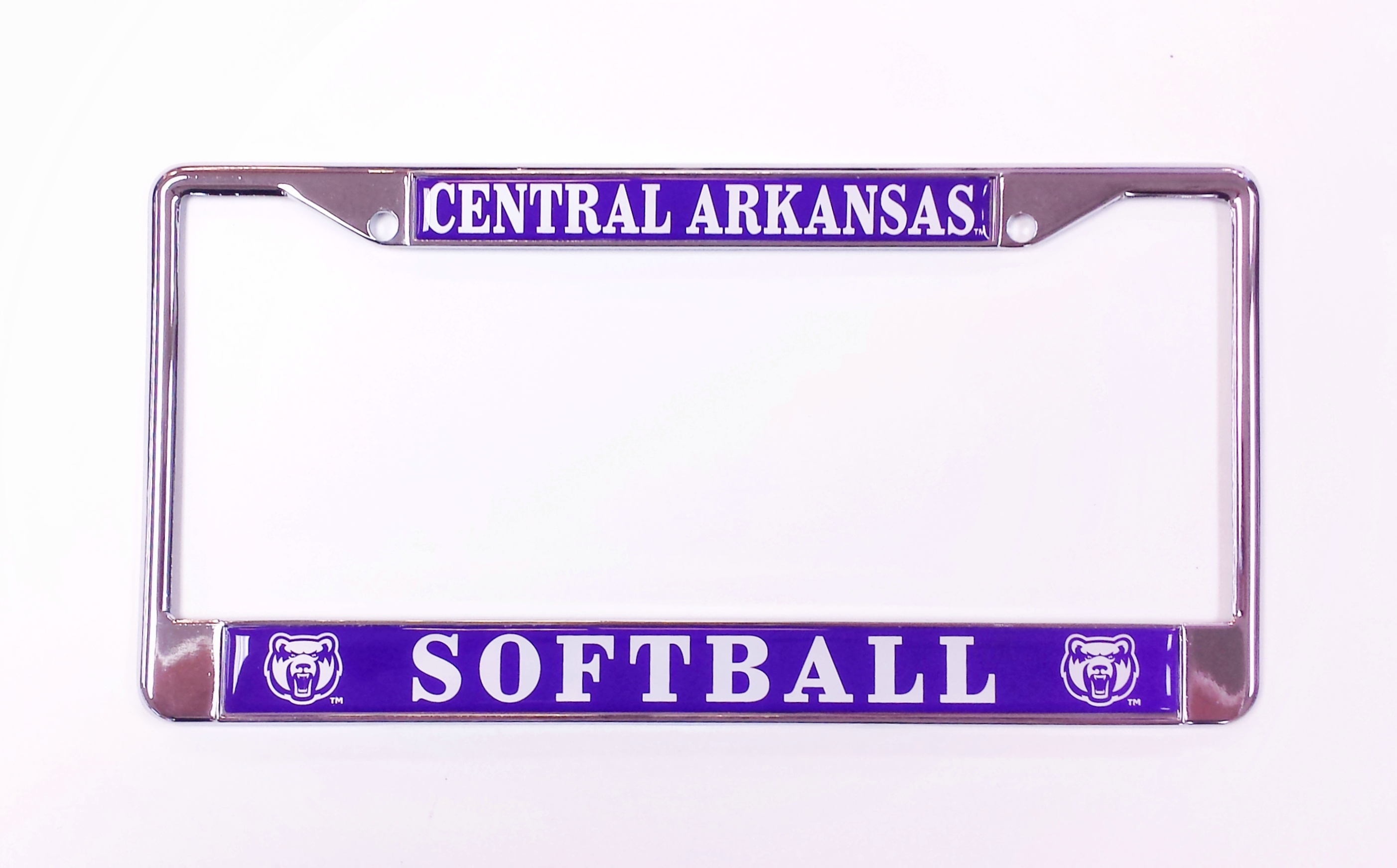 Central Arkansas Softball License Frame