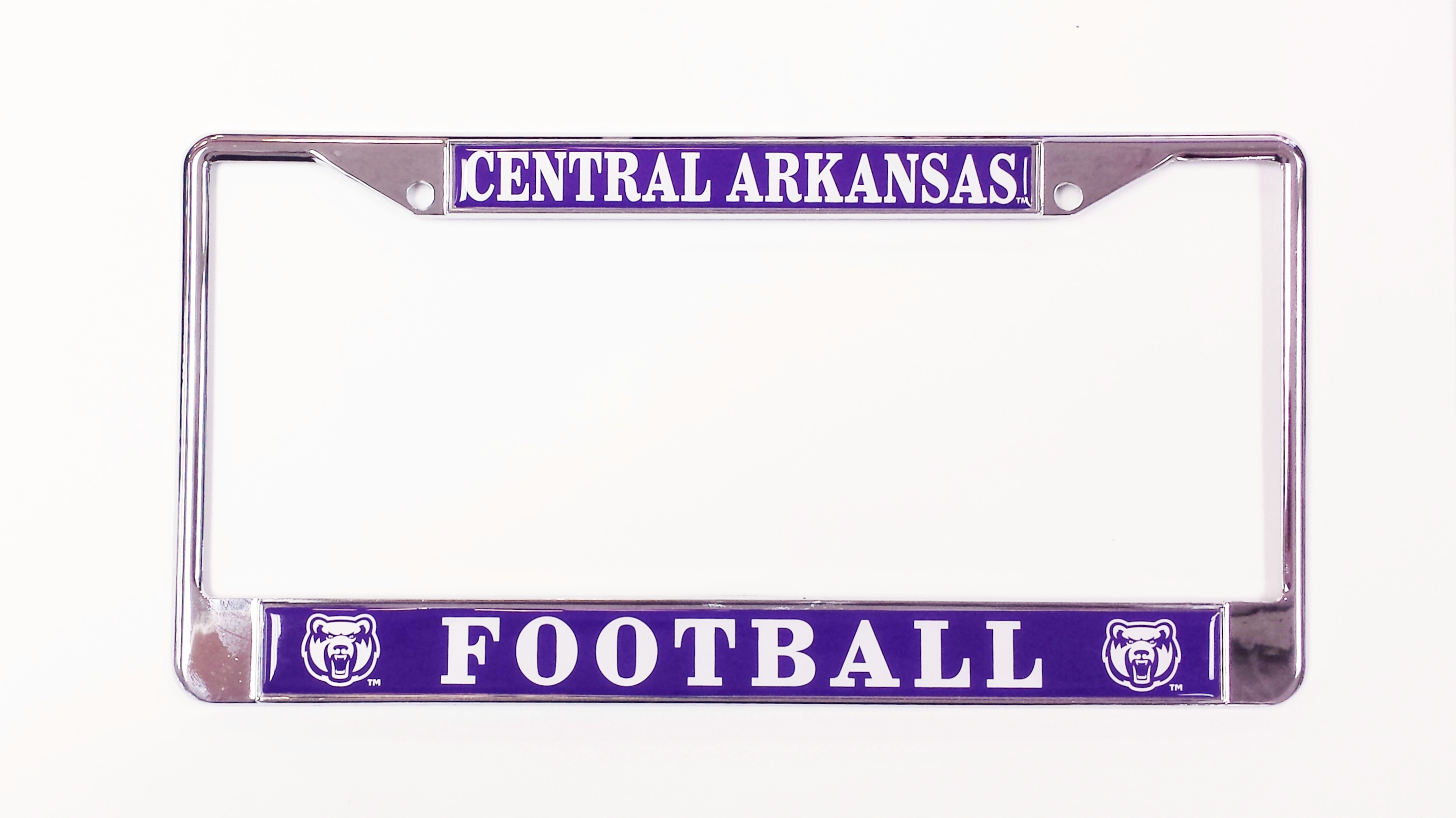 Central Arkansas Football License Frame