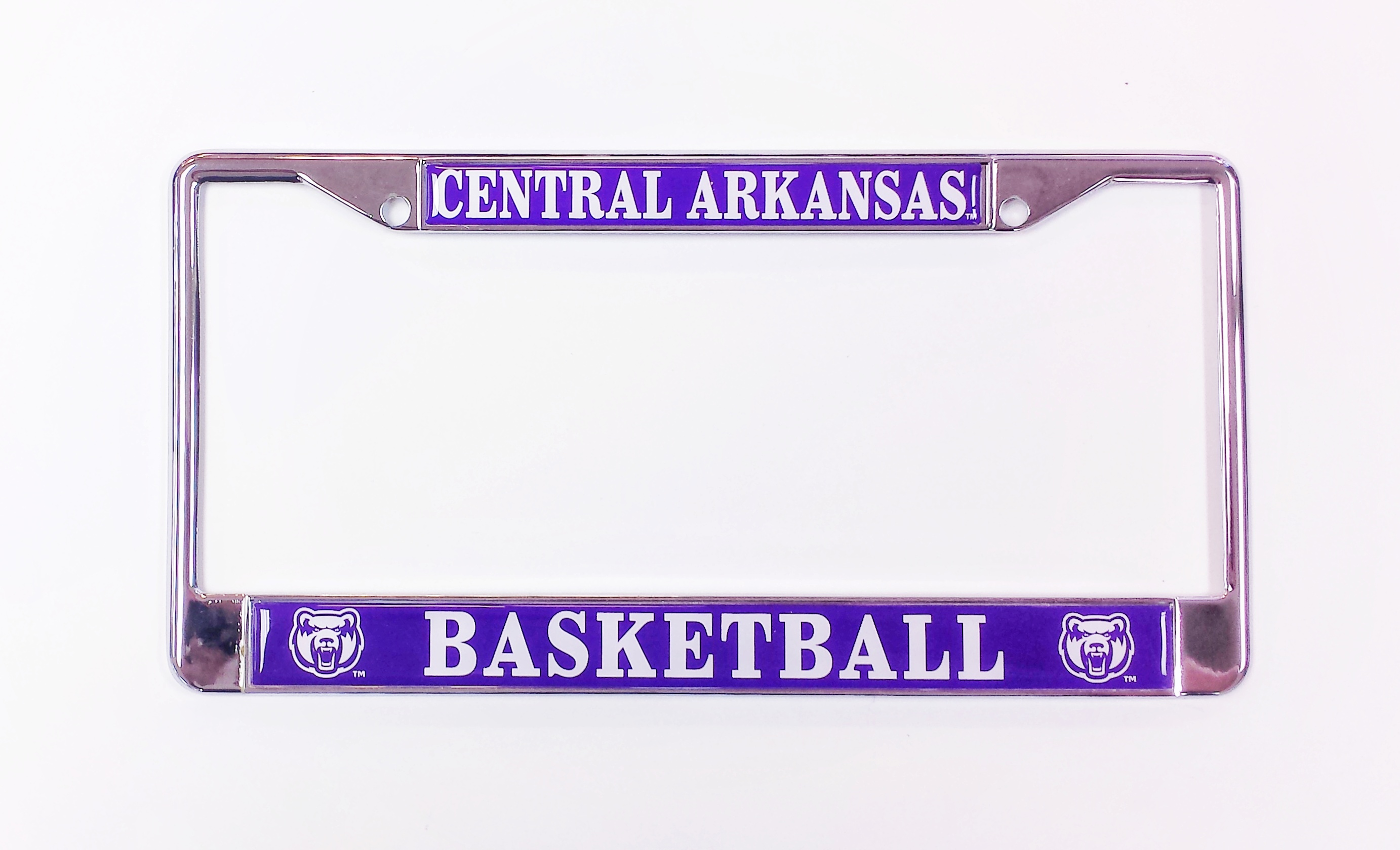 Central Arkansas Basketball License Frame