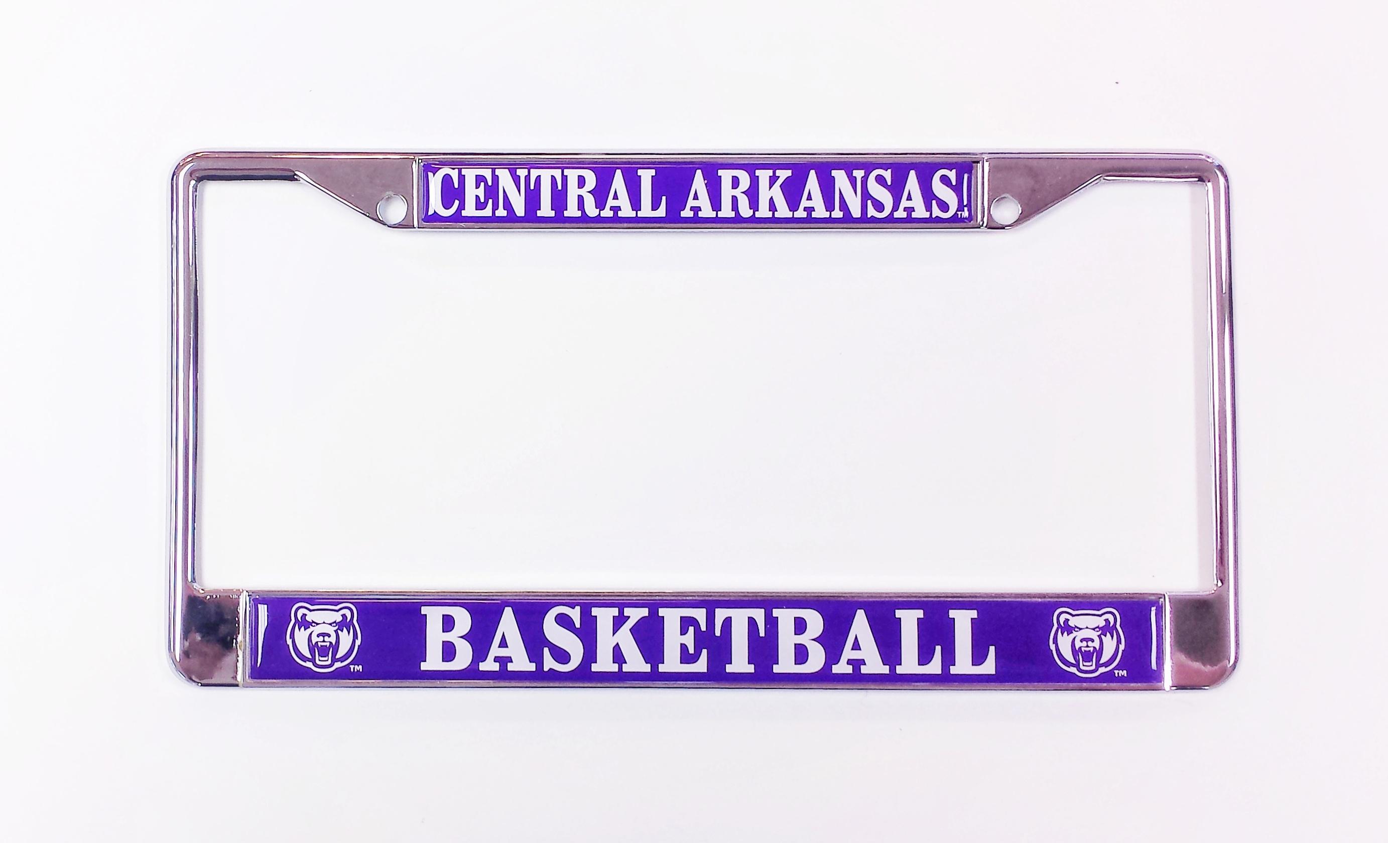 Central Arkansas Basketball License Frame