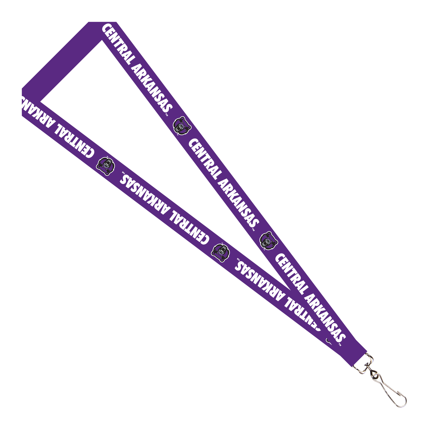 Central Arkansas Bears Lanyard