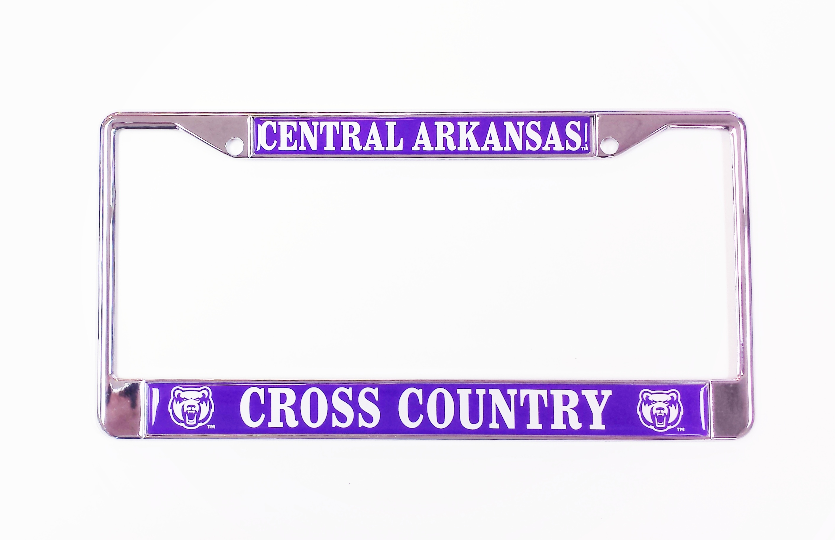 Central Arkansas Cross Country License Frame
