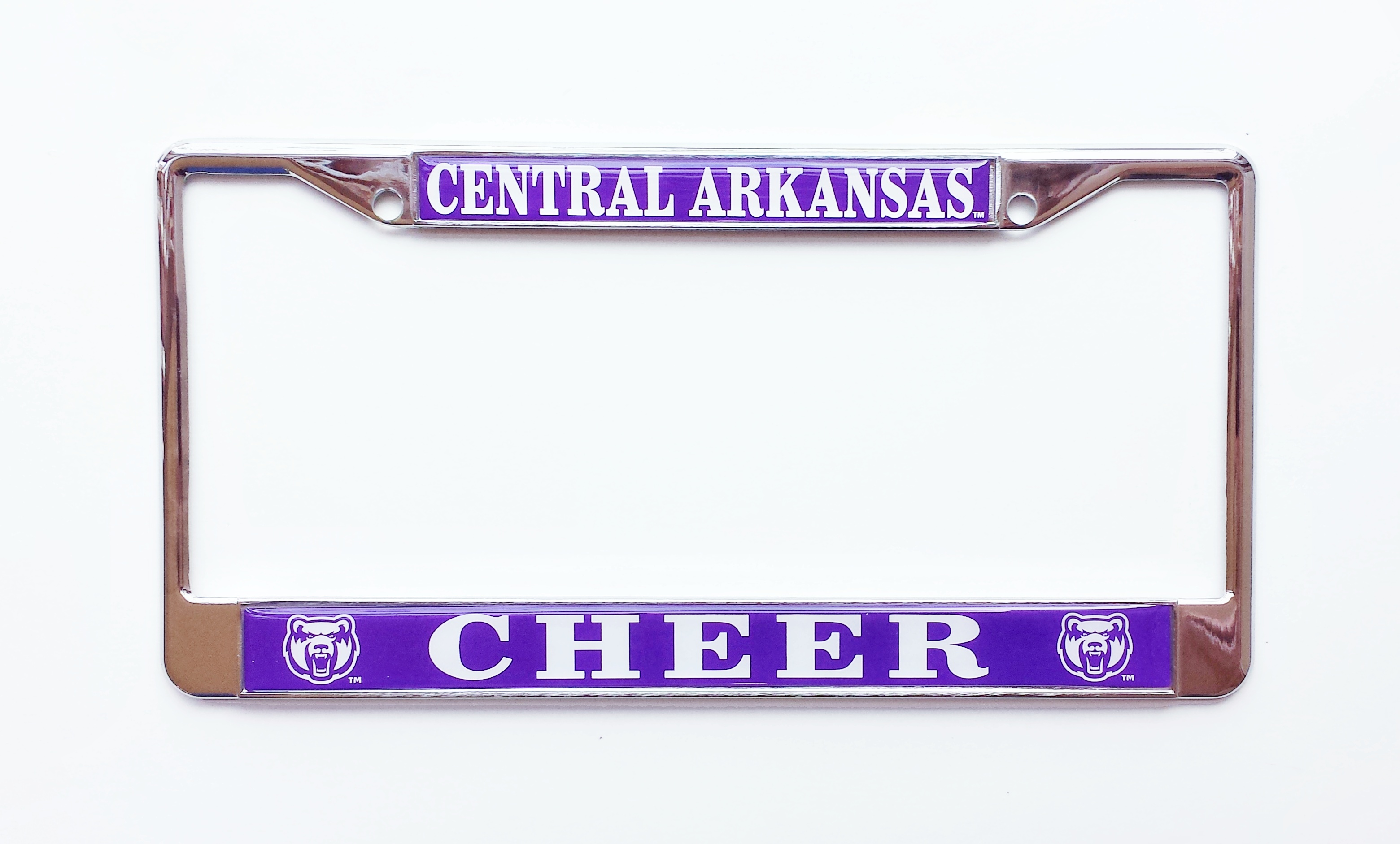 Central Arkansas Cheer License Frame