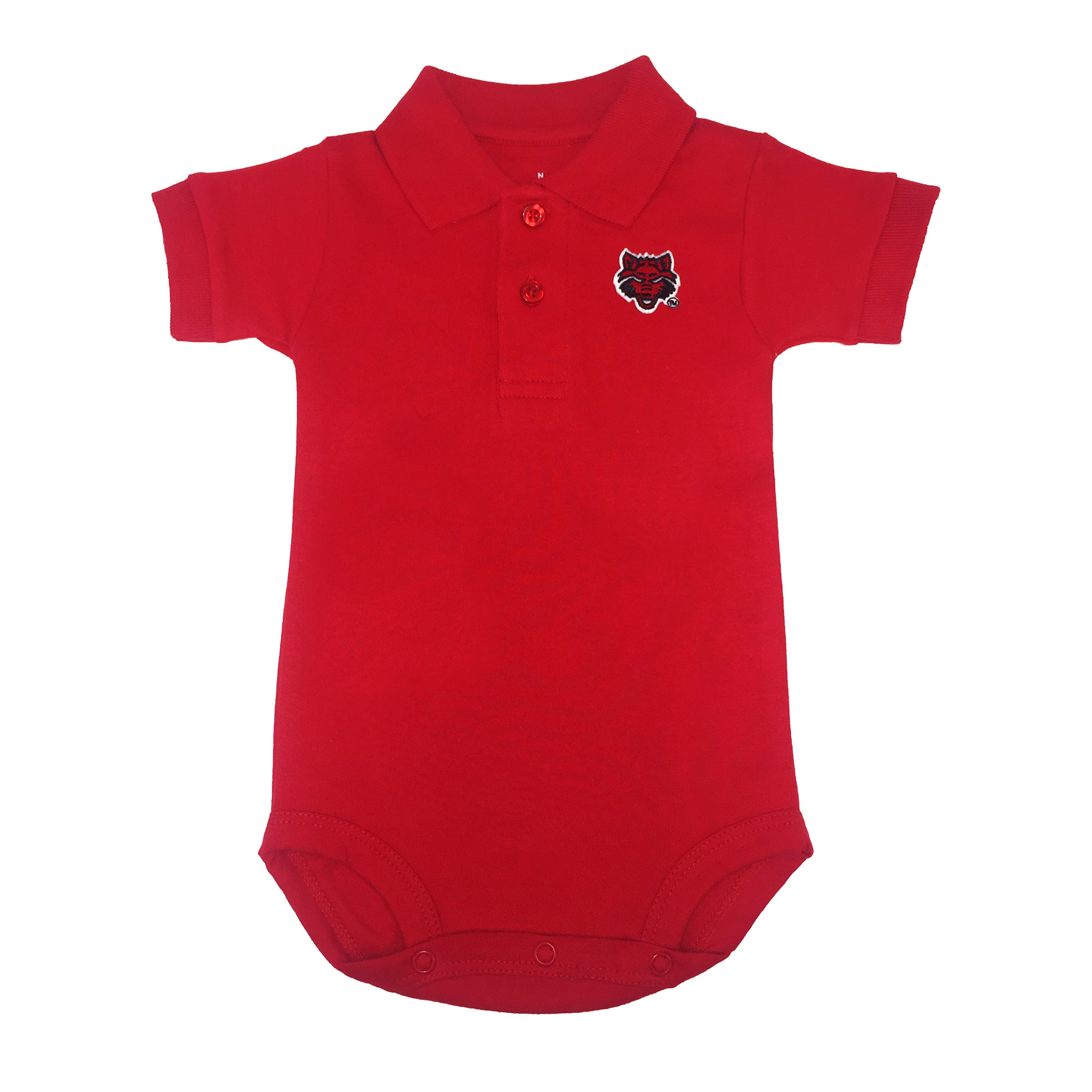 Red Wolves Polo Creeper