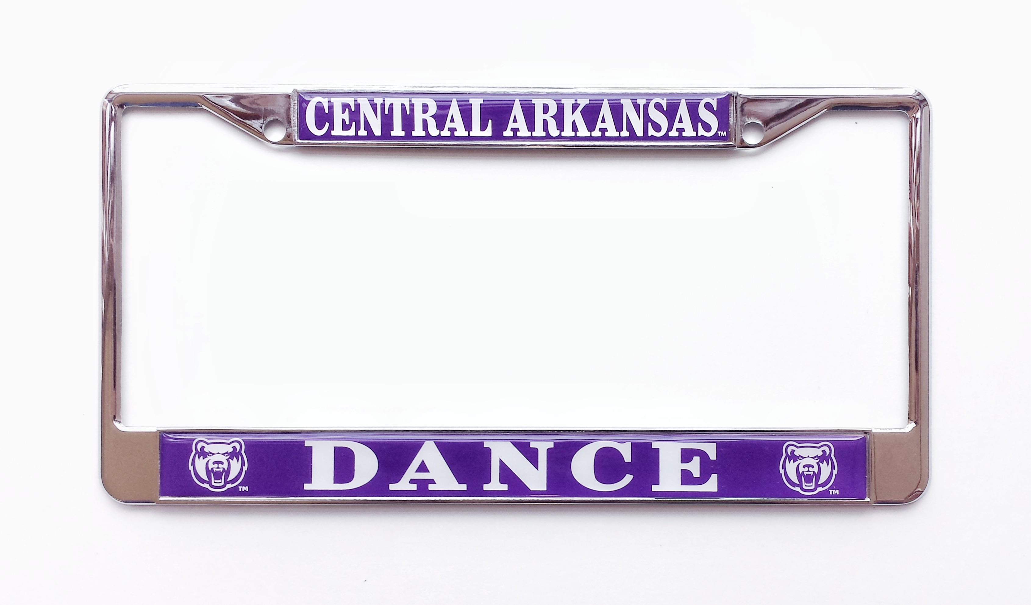 Central Arkansas Dance License Frame