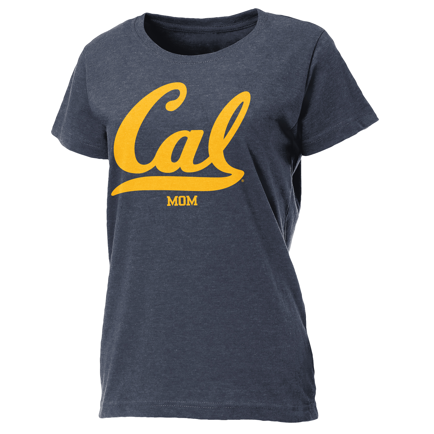 "University of California Berkeley Women's Relaxed Fit Tee ""Mom"""