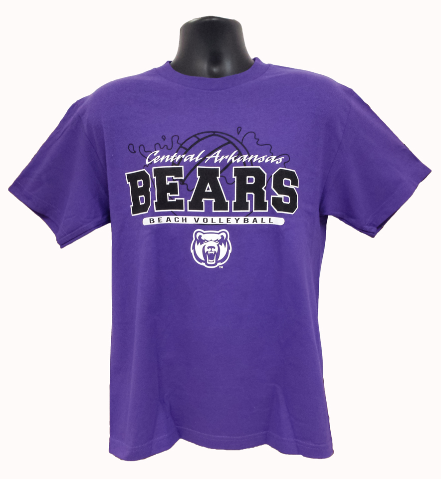 Beach Volleyball Central Arkansas Bears Tee