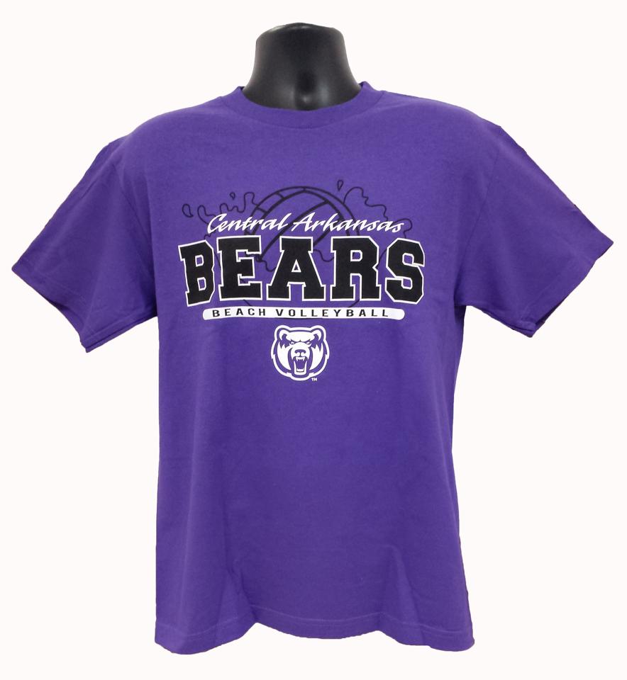 Beach Volleyball Central Arkansas Bears Tee