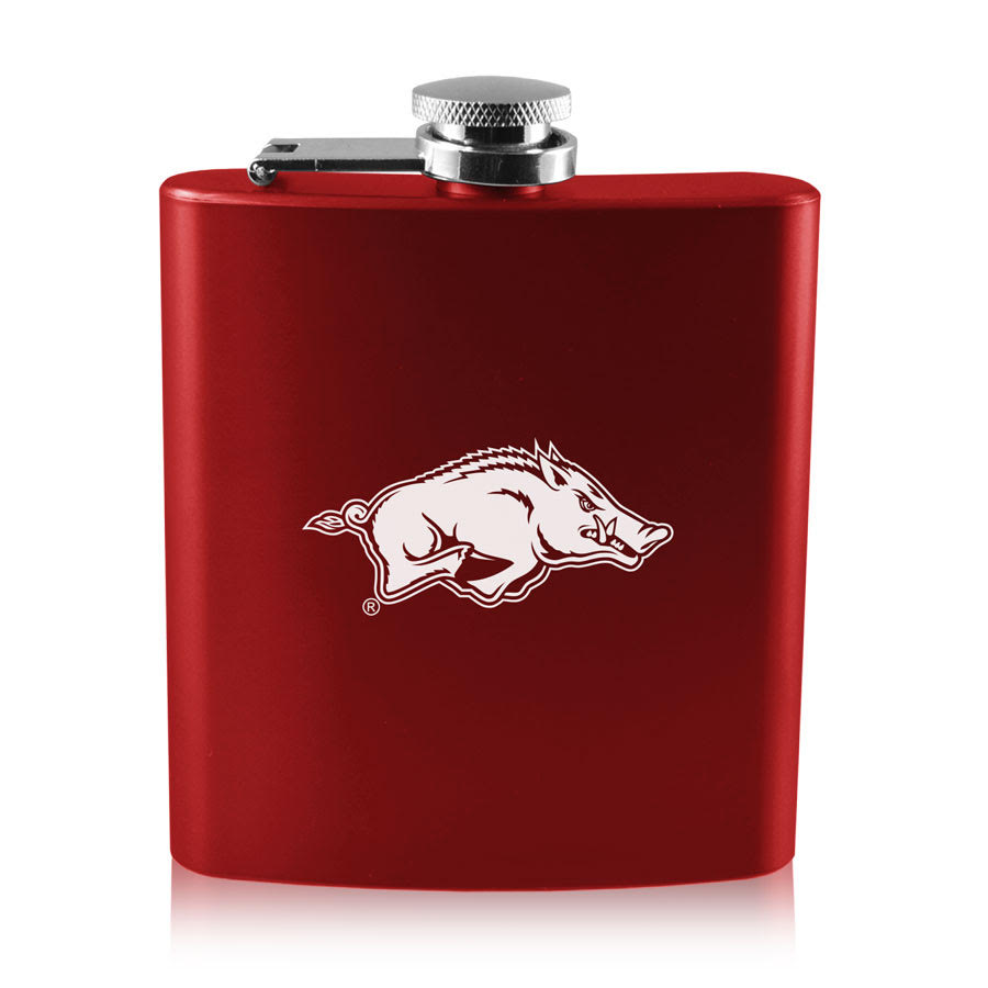 6oz Old Fashioned Flask Running Hog