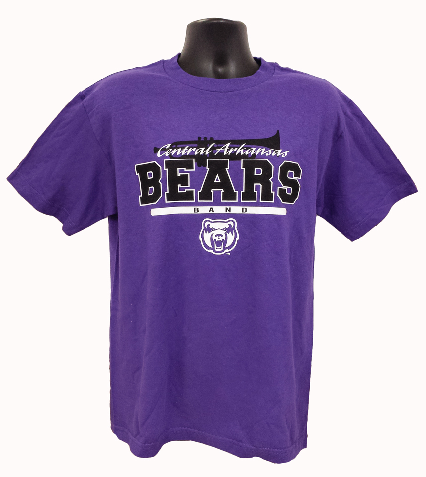 Central Arkansas Bears Band Tee
