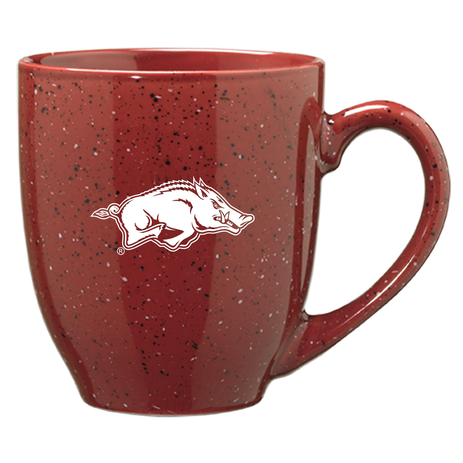16oz Bistro Speckled Ceramic Mug- Running Hog