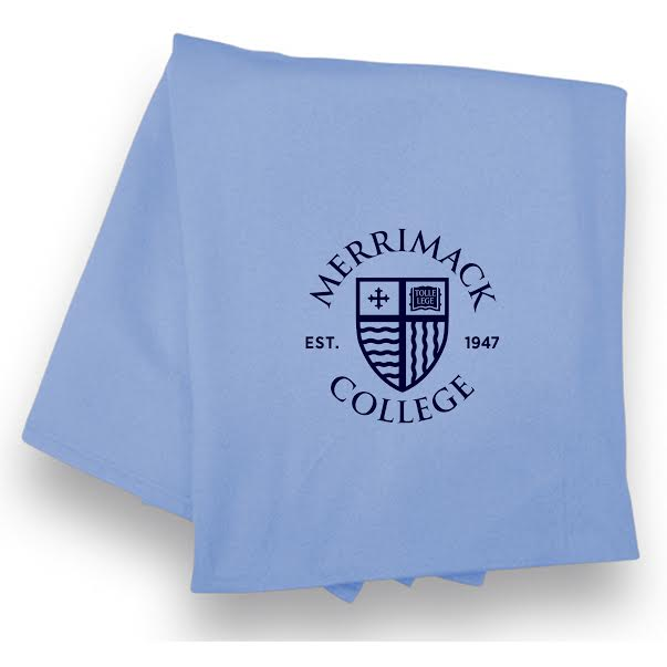 Columbia Blue Shield Sweatshirt Blanket