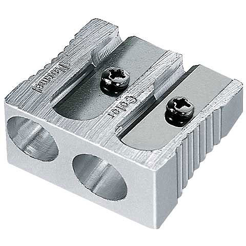 Magnesium 2-Hole Art Pencil Sharpener