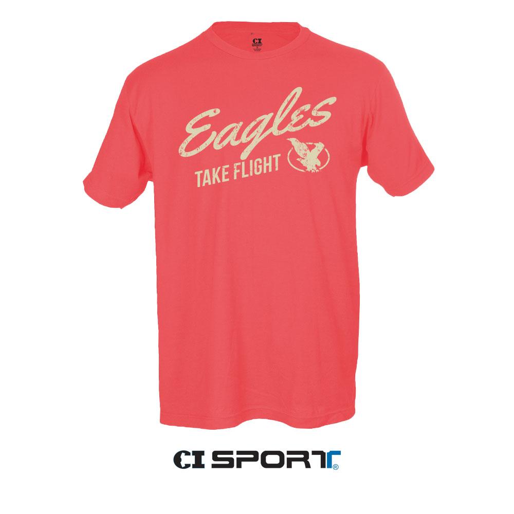 LCCC Eagles Fuzz T-Shirt
