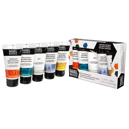 Basics Acrylic Mediums Set