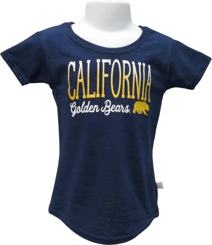 University of California Berkeley Short Sleeve Youth Lightweight Tee