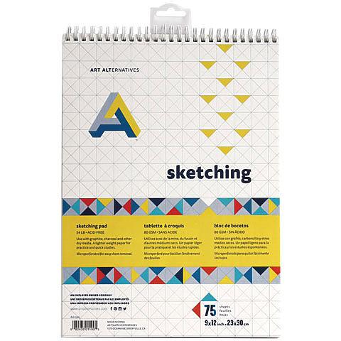Sketching Pad 9x12