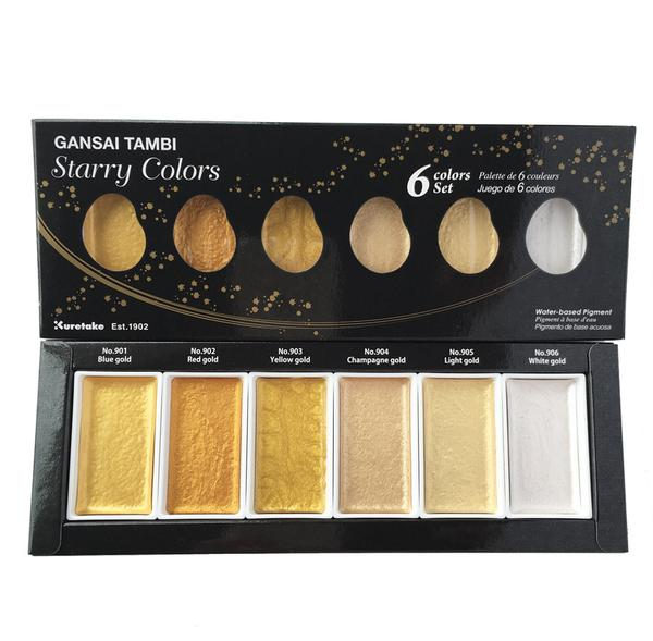 Gansai Tambi Starry Colors Watercolor Set