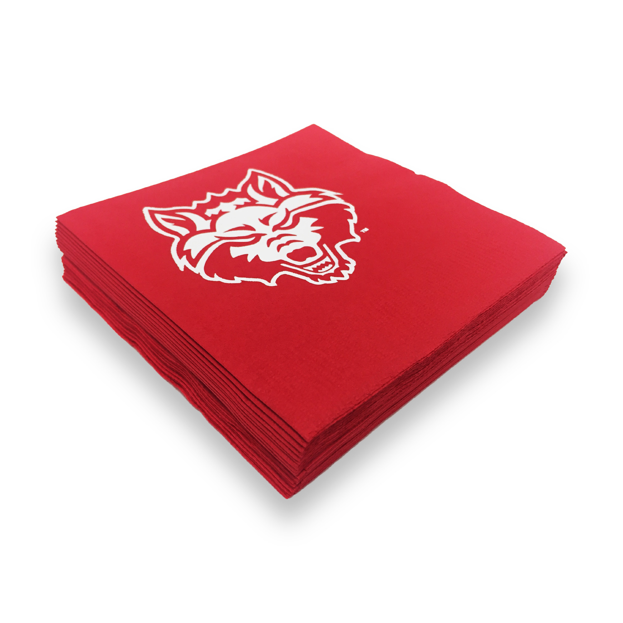 Red Wolves Napkin Set