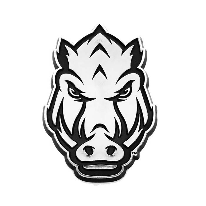 U-AR CAR EMBLEM HOG HEAD