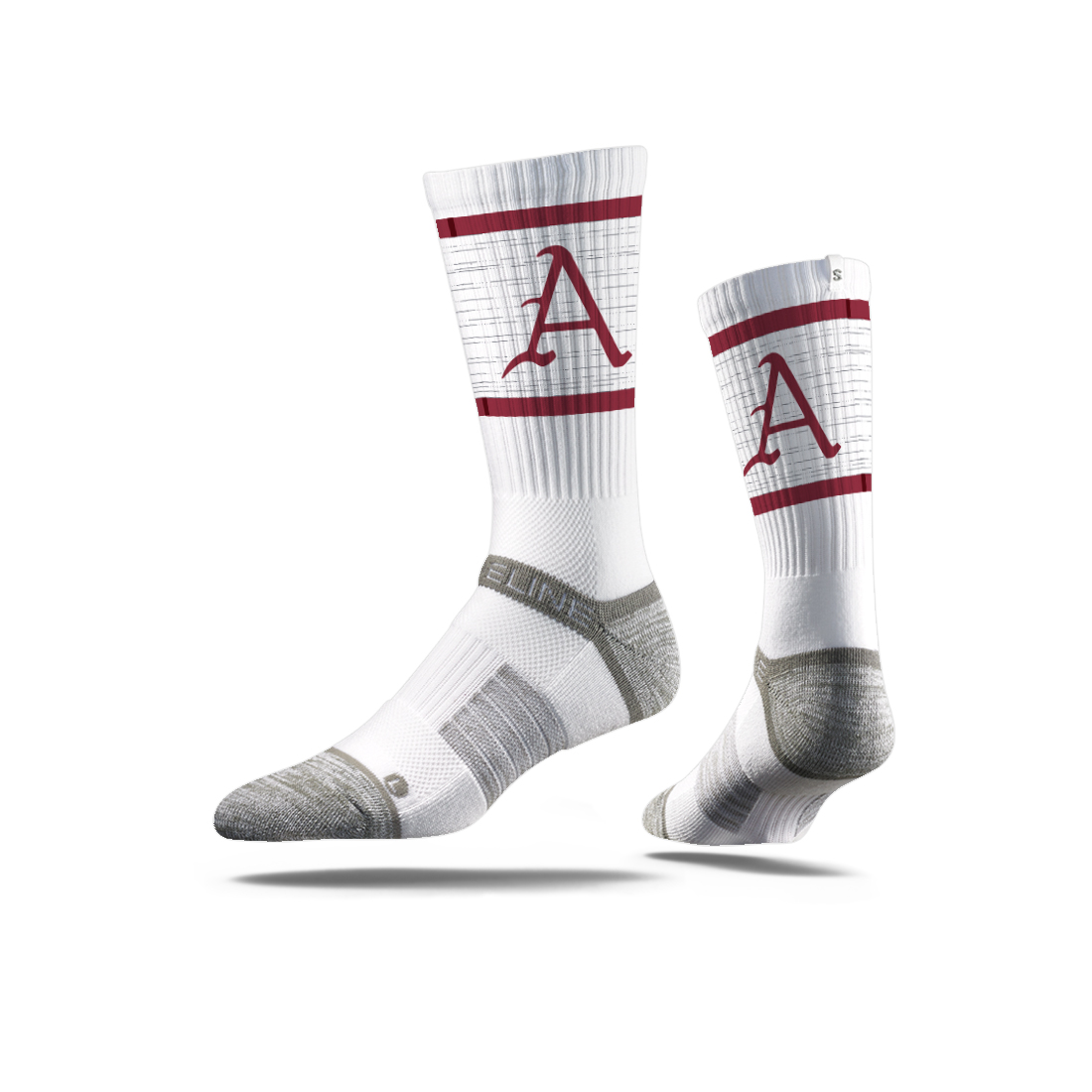 Arkansas Letter Crew Sock