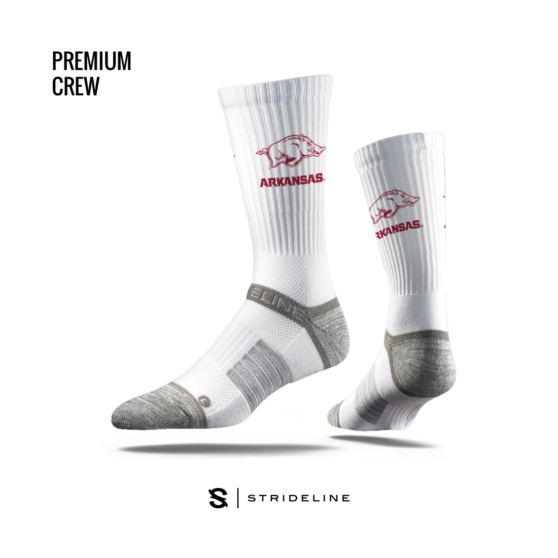 Arkansas Crew Premium Sock
