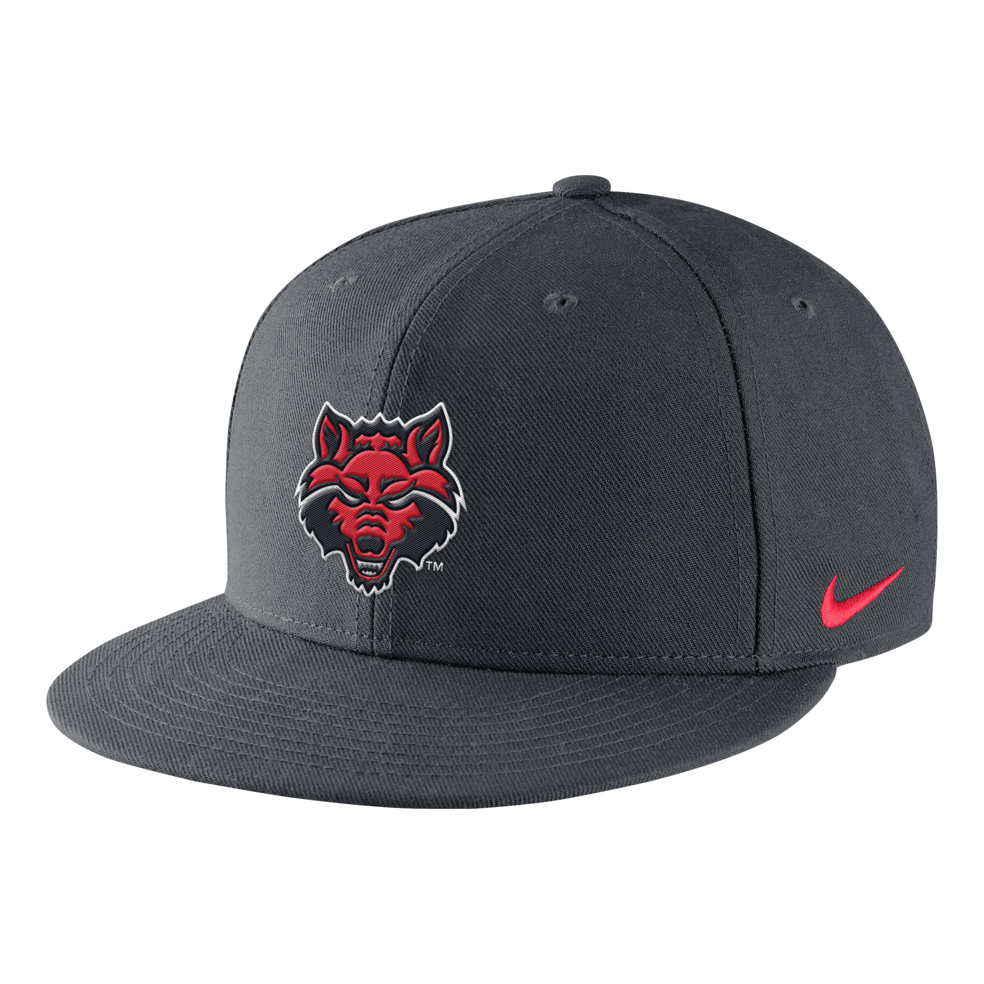 Red Wolves Core True Flat Bill Snapback